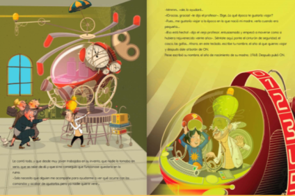La misteriosa máquina del profesor..3